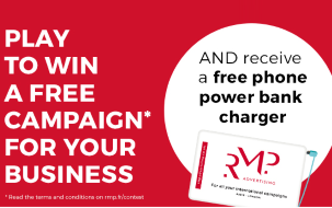 Win a free campaign with RMP Advertising